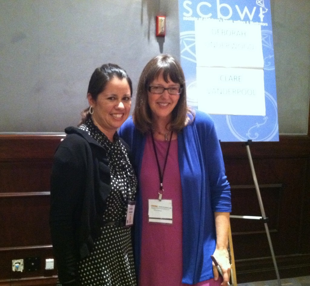 Meeting Deborah Underwood at the 2012 SCBWI Summer Conference was such a wonderful experience. Her picture book, A BALLOON FOR ISABEL , is one of my all-time favorites.