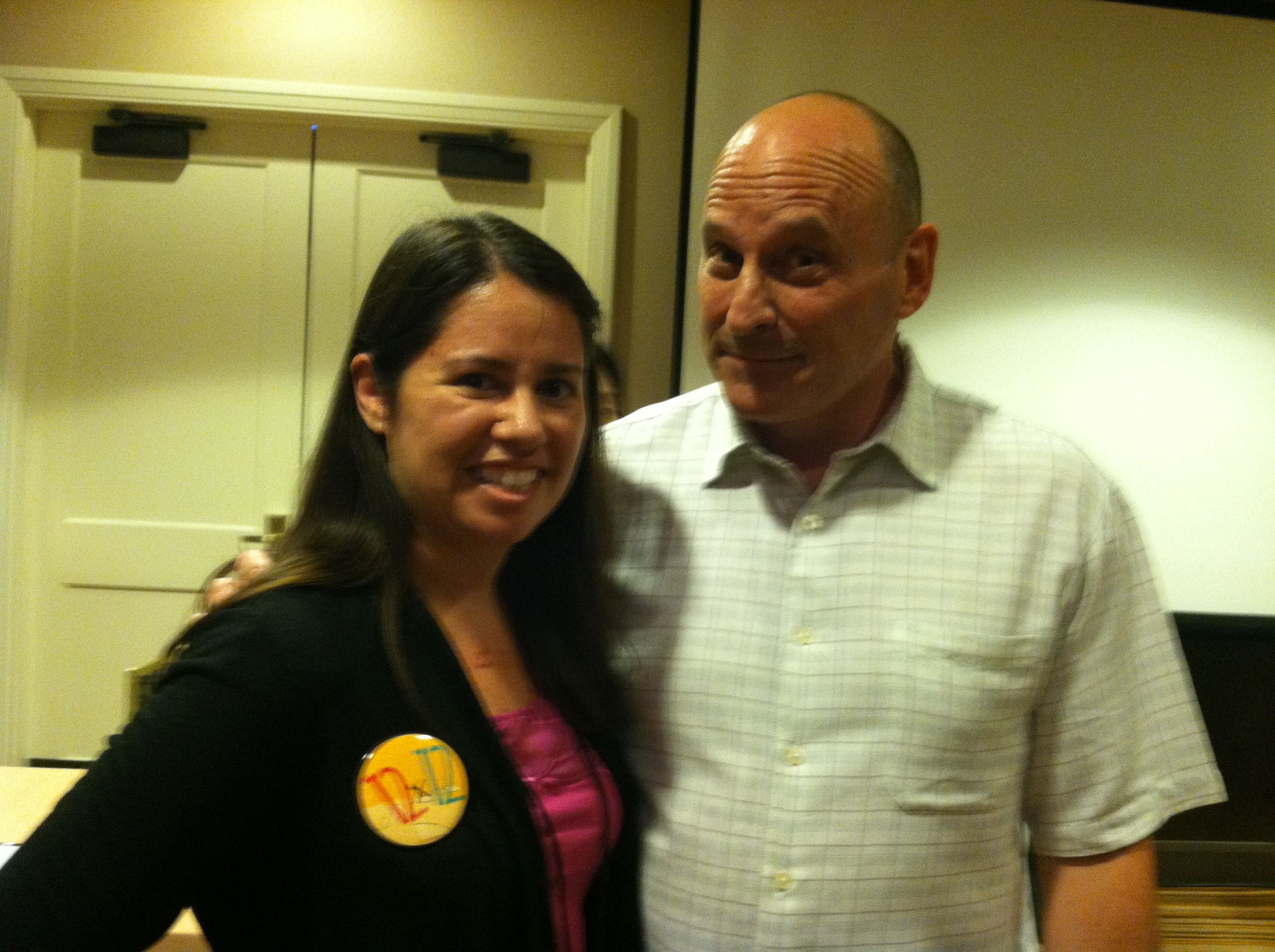 I met Jon Sciescka at the 2013 Summer SCBWI Conference.