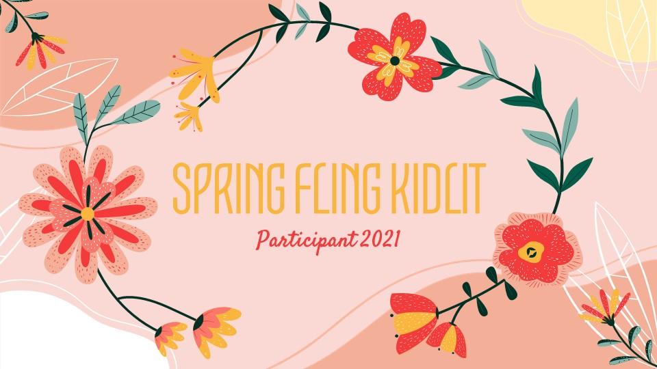 Spring Fling Kid Lit Participant 2021